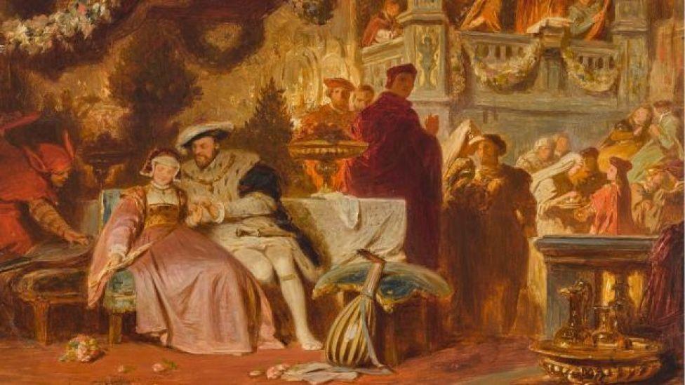 El primer encuentro de Enrique VIII con Ana Bolena.