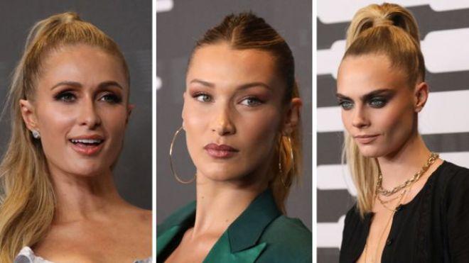 Paris Hilton, Bella Hadid, Cara Delevigne
