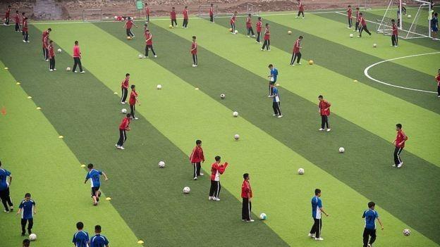 China football school