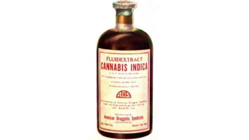 Frasco de Cannabis Indica - remédio vendido nos Estados Unidos