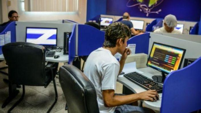 Usuarios de internet en Cuba