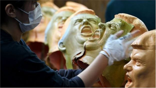 Máscaras de Donald Trump