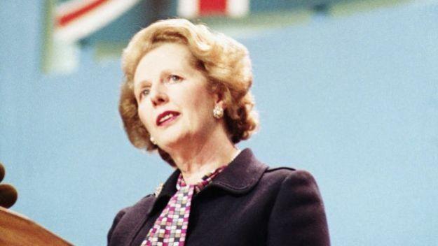 Маргарет Тэтчер. Фото 1984 года