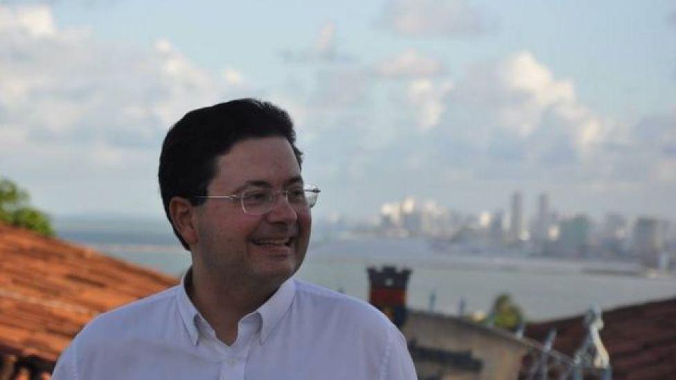 Advogado Antônio Campos, irmão de Eduardo