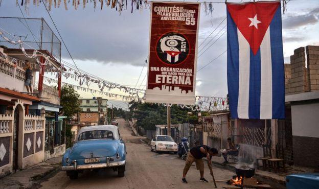 CDRs en Cuba.