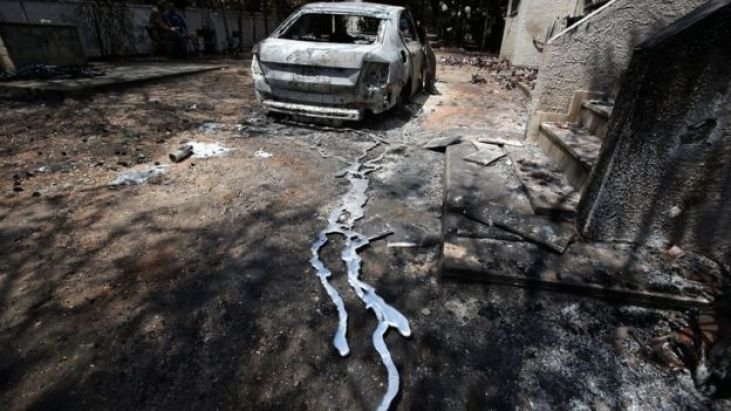 Greek Wildfires: Drivers 'Sent into Path of Blaze by Police'