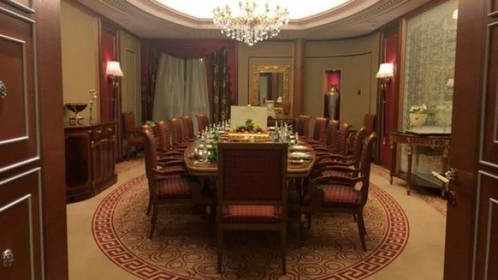 جناح الأمير الوليد بن طلال في فندق الريتز كارلتون