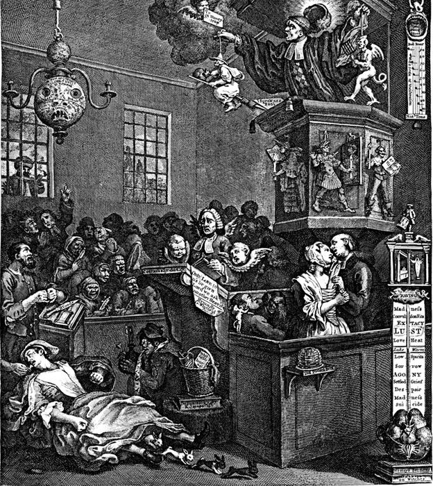 Caricatura de William Hogarth