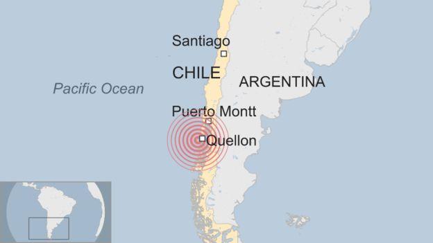 Dhulgariir ku dhuftay wadanka Chile