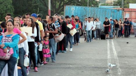 Bildergebnis für Venezuela crisis: Border with Colombia reopens after four months