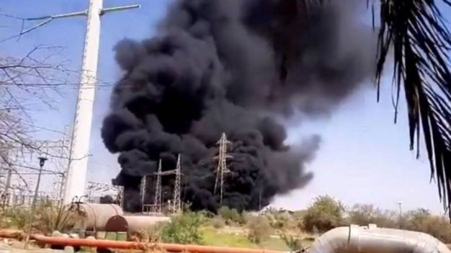 No one was injured in the Ahwaz power plant accident