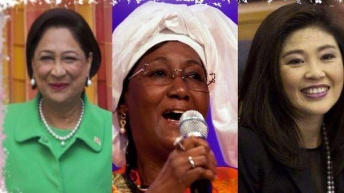 Mujeres al poder en Trinidad y Tobago, Mali y Tailandia.