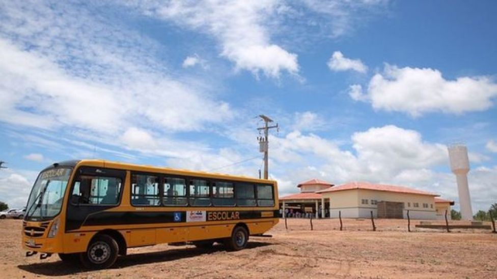 ônibus escolar, em foto de arquivo