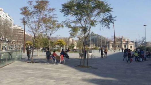 Nova área pública de Barcelona
