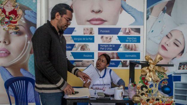 Un médico venezolano en Perú.