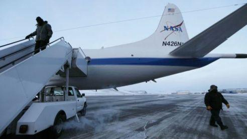 Operação da Nasa no Ártico