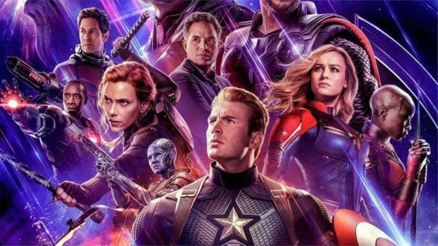 avengers endgame the marvel