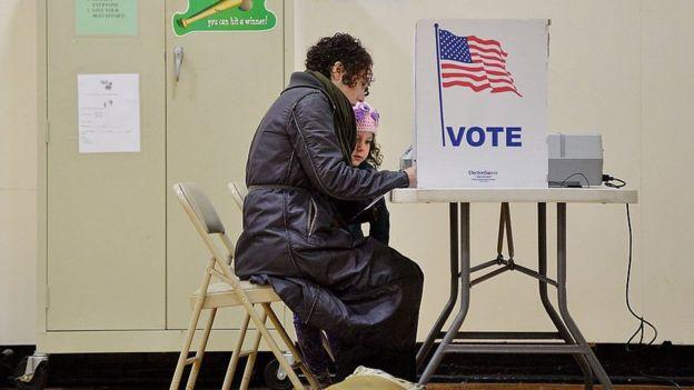 Votantes en Carolina del Norte