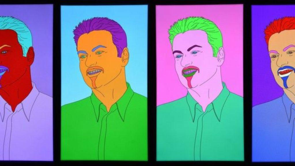 George Michael by Michael Craig-Martin