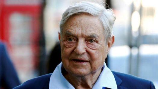 George Soros indo falar no Open Russia Club em Londres