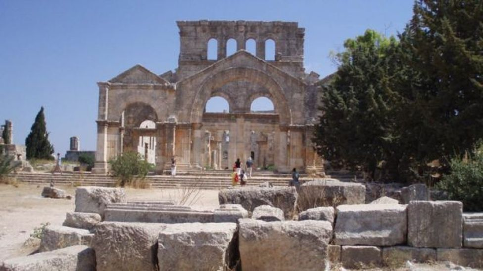 """Ancient ruins of Syria's """"Dead Cities"""""""