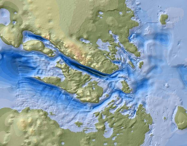 glaciar Denman
