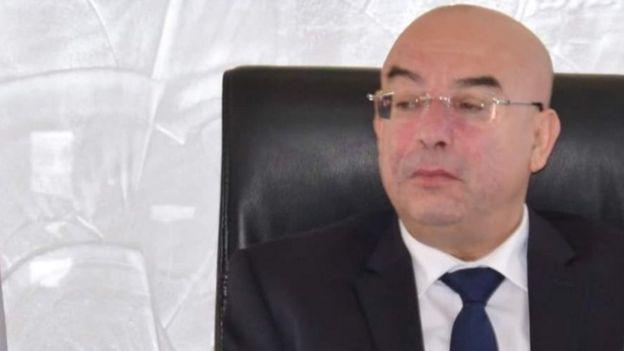 وزير الداخلية الجزائري