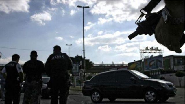 Policiais em SP