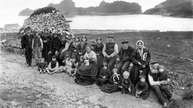 Archive photograph of St Kilda