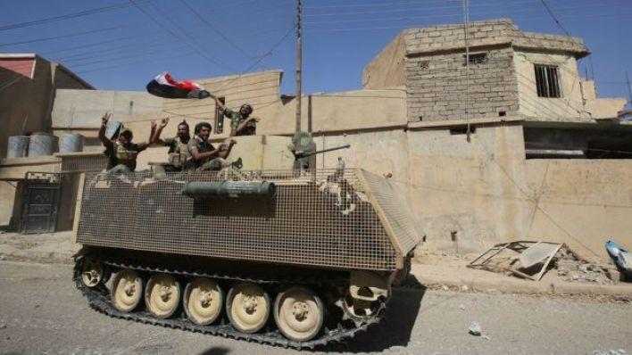 عناصر من القوات شبه العسكرية في العراق