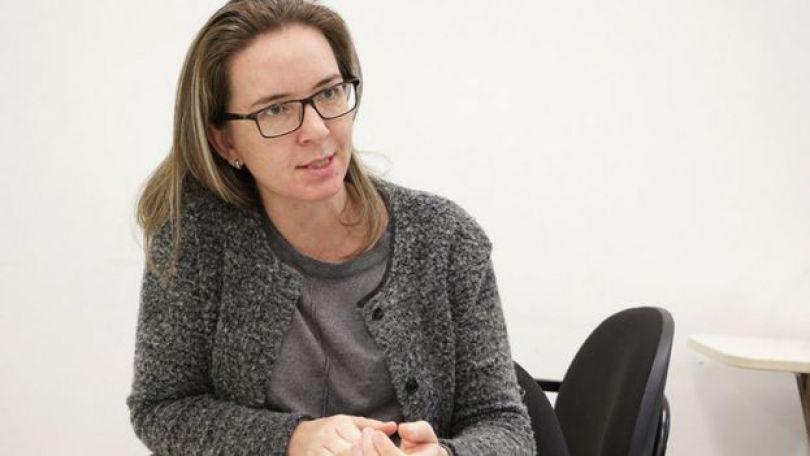 A pesquisadora Francilene Kunradi
