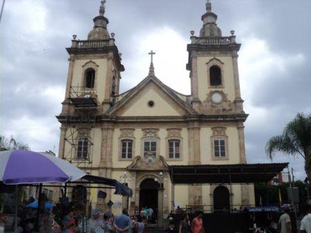 Antiga Igreja de Aparecida onde D. Pedro passou em 1822 durante viagem entre Rio de Janeiro e São Paulo que acabaria terminando com a declaração de Independência do Brasil