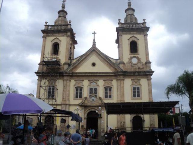 Antiga Igreja de Aparecida onde D. Pedro passou em 1822