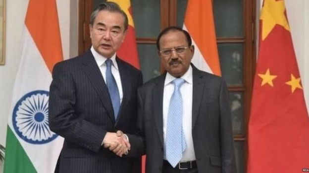 Ajit Dobhal and Chinese Foreign Minister