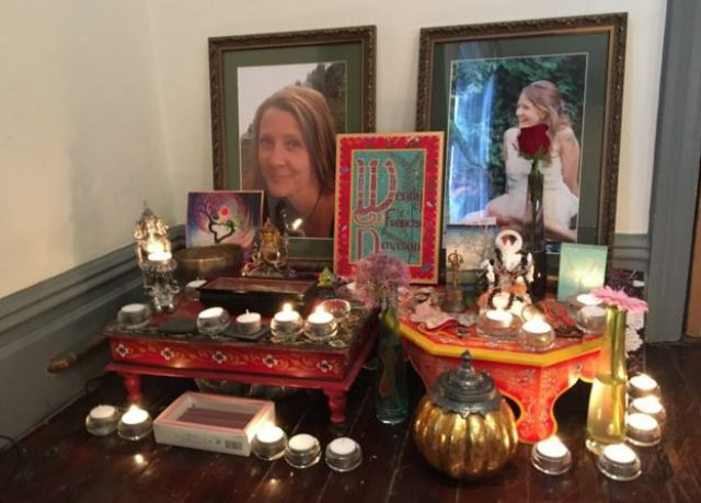 Wendy Davison shrine