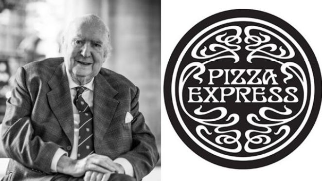 Peter Boizot; and Pizza Express logo