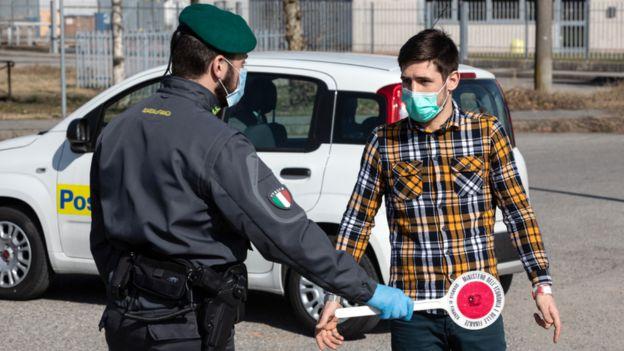 Restricciones en Italia por el coronavirus