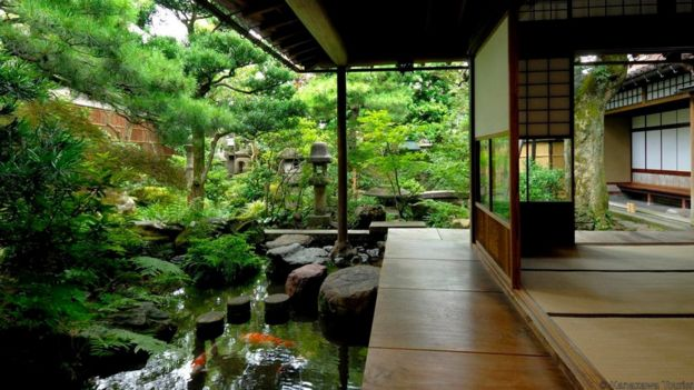 The stunning Nomura House.