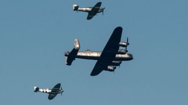 Aircraft from the Battle of Britain Memorial Flight