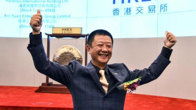 Image result for 海底捞 上市