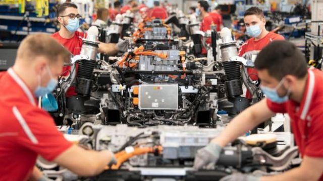 Fabrica da Porsche