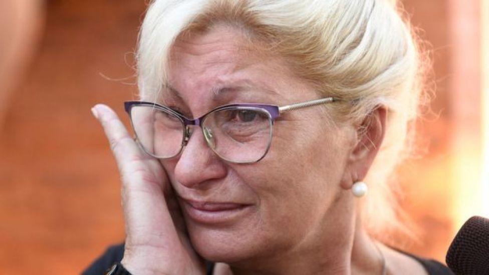 Emiliano Sala's aunt Mirta Taffarel