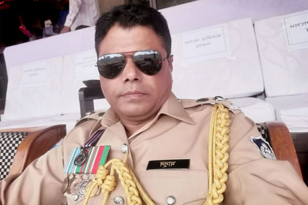 Police superintendent A B M Masud Hossain