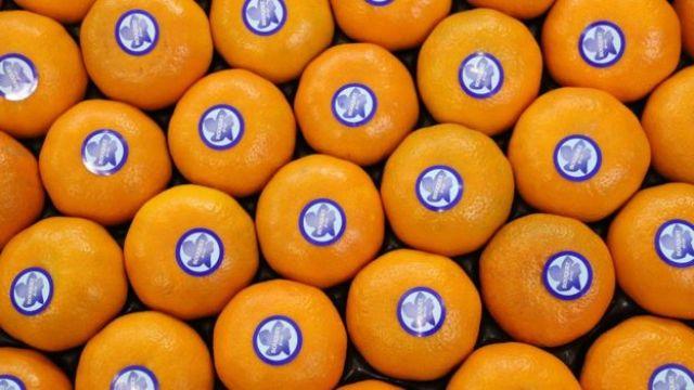 Mandarinas.