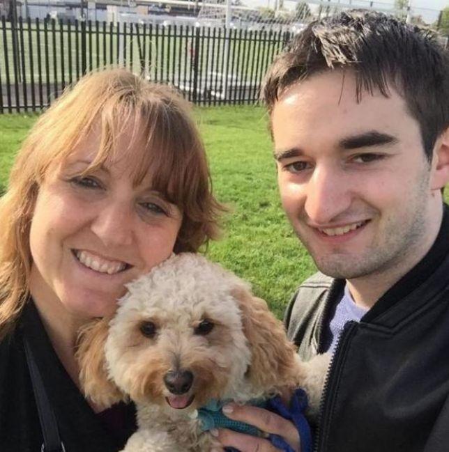 Gillian, Tommy e o cachorro de Gillian