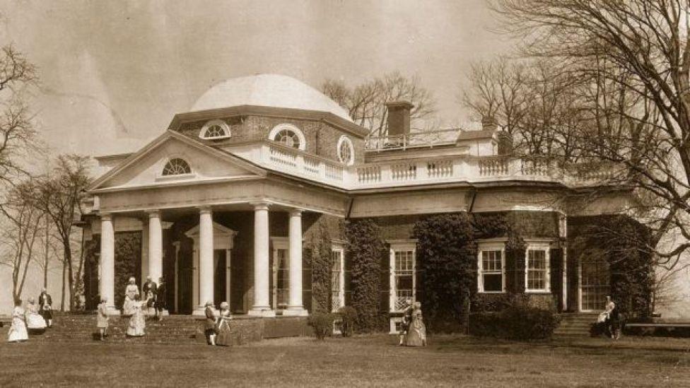 Residencia de Monticello.