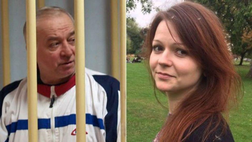 Sergei Skripal e sua filha Yulia