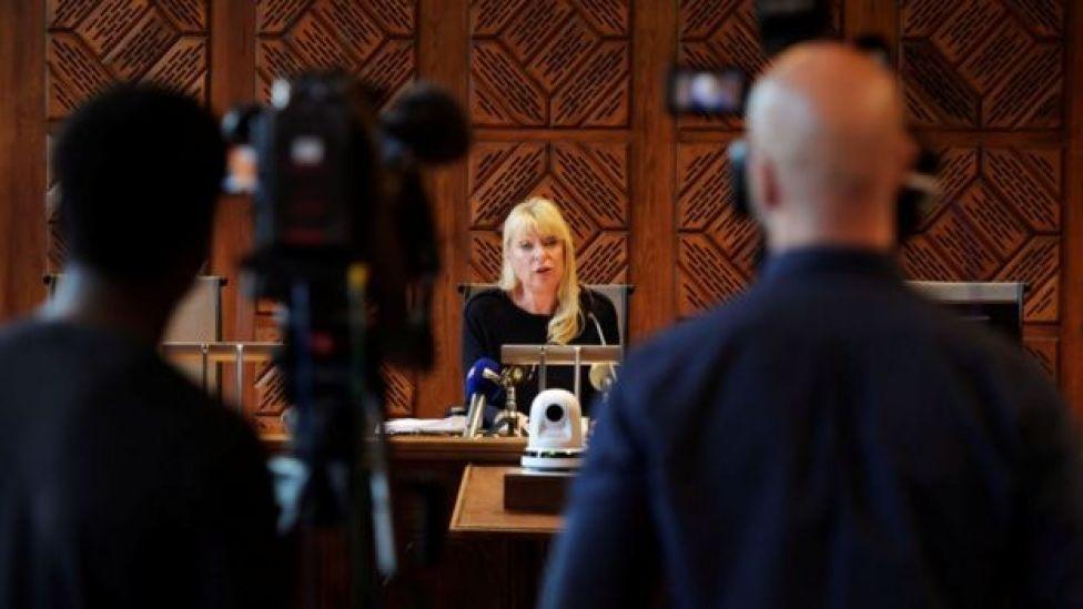 La juez Gudrun Anteman