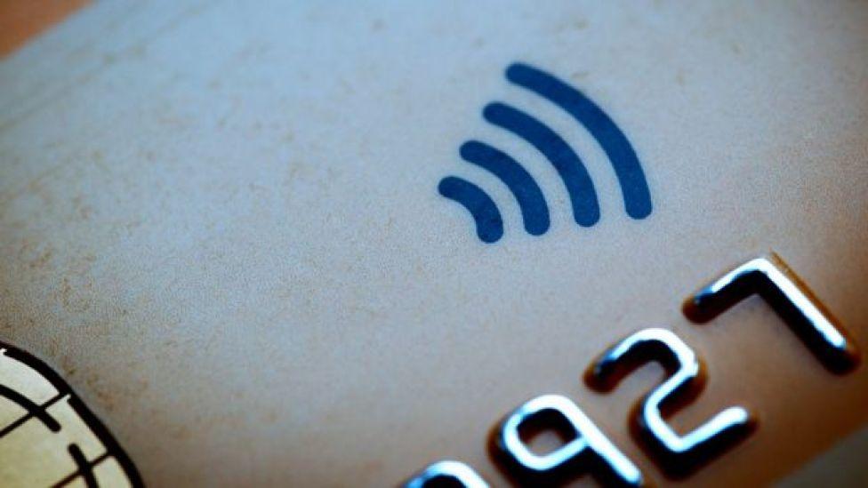 Símbolo de pago sin contacto