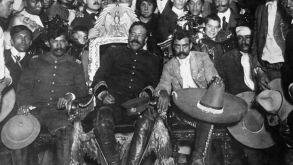 Pancho Villa y Emiliano Zapata